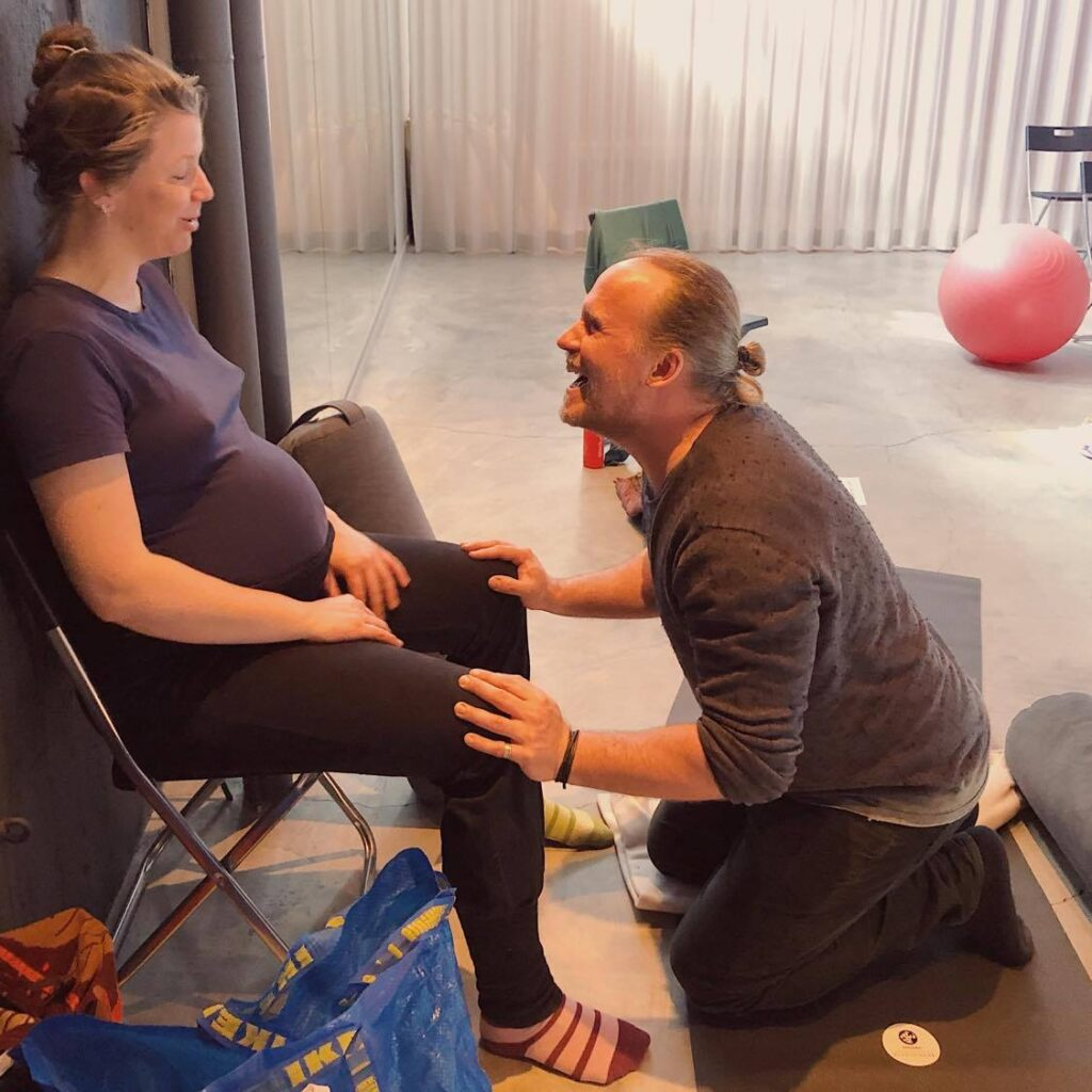 Knäpress, workshop Aktiv förlossning